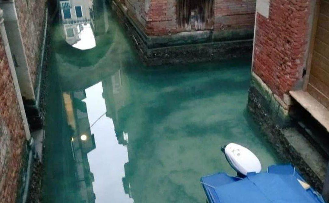 Eaux purifiées du canal de Venise