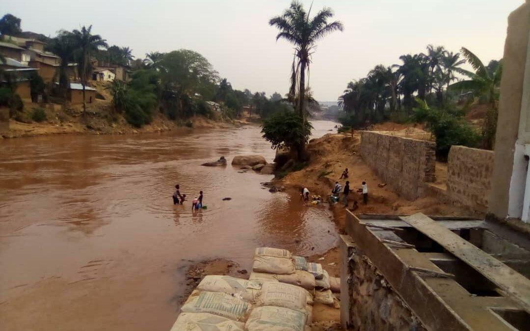 RDC crise humanitaire due à une grave pollution des rivières